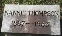 "Nancy Ryan ""Nannie"" Byron Thompson (1867-1953) - Find A Grave Memorial"