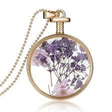 rinhoo real natural purple flower