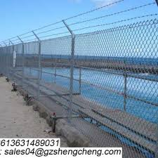 Chain Link Fence Buy Guangzhou Hot Sale Pvc Coated Chain Link Fence Cyclone Wire Fence Price Philippines On China Suppliers Mobile 159030529