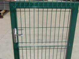 Fence Gate Welded Wire Mesh Panel Biaosheng