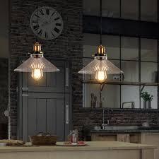 glass pendant light for home black