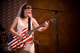 """Jami Smith singing """"Faith in You"""" at her wedding reception… 