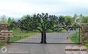 Main Gate Design For Homes Best 60 Modern Front Gate Idea Images