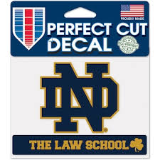 University Of Notre Dame Car Decals Decal Sets Notre Dame Fighting Irish Car Decal Shop Und Com