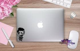 Chibi Sombra Overwatch Character Vinyl Decal Sticker