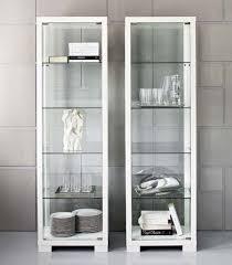 station single glass display cabinet