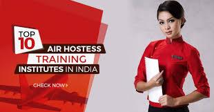 top 10 air hostess insutes