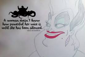 The Little Mermaid Ursula Powerful Voice Wall Decal Sticker 19 3 W X 1 Lucky Girl Decals