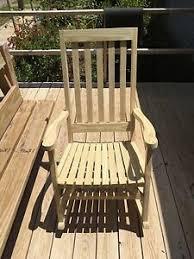 light brown rocking chair