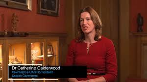 Dr Catherine Calderwood (CMO) speaking ...