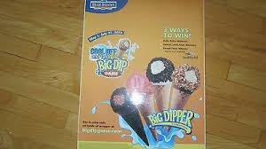 Big Dipper Cone Vinyl Decal Sticker Ice Cream Truck Water Ice Van Blue Bunny 1 Ebay