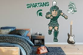 Michigan State Sparty Wall Decal Nudge Printing