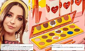 fans slam your zoella s new makeup