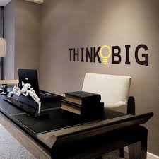 Creative Think Big Quotes Wall Stickers For Kids Rooms Study Room Office Home Decor Vinyl Wall Decals Diy Decorative Mural Art Sticker For Kids Room Wall Stickers For Kidswall Sticker Aliexpress