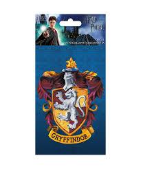 Harry Potter 4 X 8 Gryffindor Decal Walmart Com Walmart Com