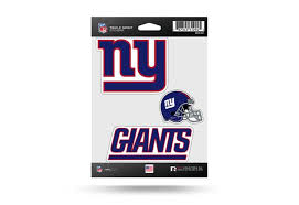 Nfl Football Ny Giants Window Decal Sticker Set Officially Licensed Custom Sticker Shop