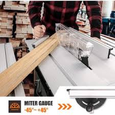 Tacklife 2000w Table Saw Aluminum Expansion Table With 24t Blade 4800 Rpm Miter Gauge Push Bar And Rip Fence Mts01a