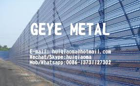 Single Wall Dust Control Windbreak Fence Coal Pile Perforated Steel Wind Fence For Thermal Power Plant