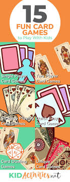 14 fun cards games to play with kids