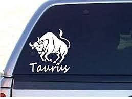 Amazon Com Stickerloaf Brand Taurus Bull Zodiac Astrology Decal Decals Laptop Macbook Car Window Sticker Everything Else
