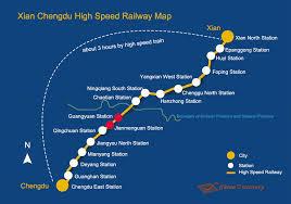 xian chengdu high sd train bullet