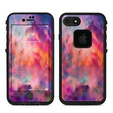 Skin For Lifeproof Fre Iphone 7 Sunset Storm By Amy Sia Sticker Decal Ebay