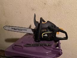 chainsaw garden equipment in