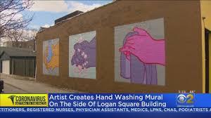 Coronavirus Message In Logan Square ...