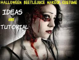 beetlejuice makeup costume