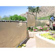 6 X 50 Mesh Privacy Fence Liner Tan