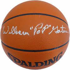"WILLIAM ""POP"" GATES Autographed Basketball Harlem Globetrotters Beckett  V62764 - $499.00 | PicClick"