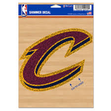 Cleveland Cavaliers Wincraft 5 X 7 Shimmer Decal
