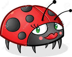 ladybug cartoon character wearing