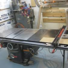 Chain Of Events Leads To A New Table Saw Setup Woodshop News