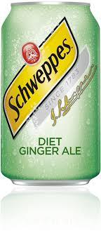 t ginger ale schweppes