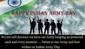 Indian Army Day Messages, Status, SMS, Wishes, Quotes, WhatsApp