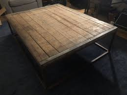 brickmaker s coffee table 70