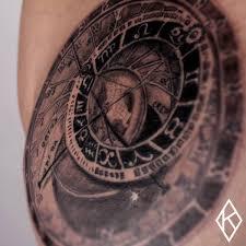 Prague Orloj Kbless Tattoo