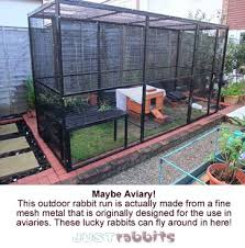 Rabbit Runs Pens Outdoor Rabbit Run Pet Fox Rabbit Run
