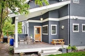 blue grey as an exterior paint color