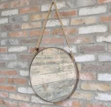 wall hanging rope mirror round porthole