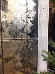 faux mercury glass mirror jennifer rizzo