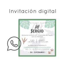 Invitacion Digital Cumpleanos Dinosaurios Un Evento Unico
