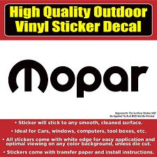 Mopar Automotive Vinyl Car Vehicle Window Decal Sticker Colorado Sticker
