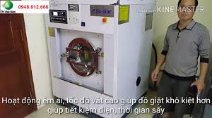 Lắp đặt máy giặt công nghiệp su star Cung cấp hóa chất giặt là tại Cầu Giấy Hà  Nội - YouTube