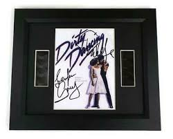 dirty dancing film cell signed preprint