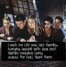 elegant quotes from friends tv show about friendship