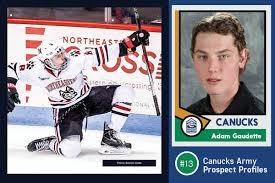 Canucks Army Prospect Profile: #13 Adam Gaudette – Canucksarmy