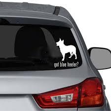 Yjzt 11 9cm 14 7cm Got Blue Heeler Dog Car Sticker Waterproof Black Silver C2 3058 Car Sticker Dog Car Stickersstickers Waterproof Aliexpress