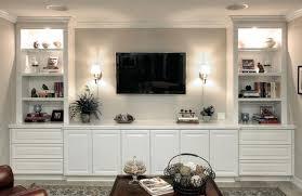 wall units custom cabinets living room